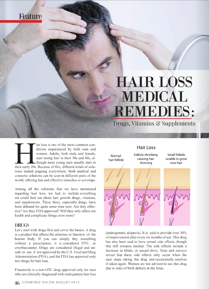 hairloss med remedies