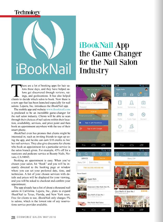 ibook nail
