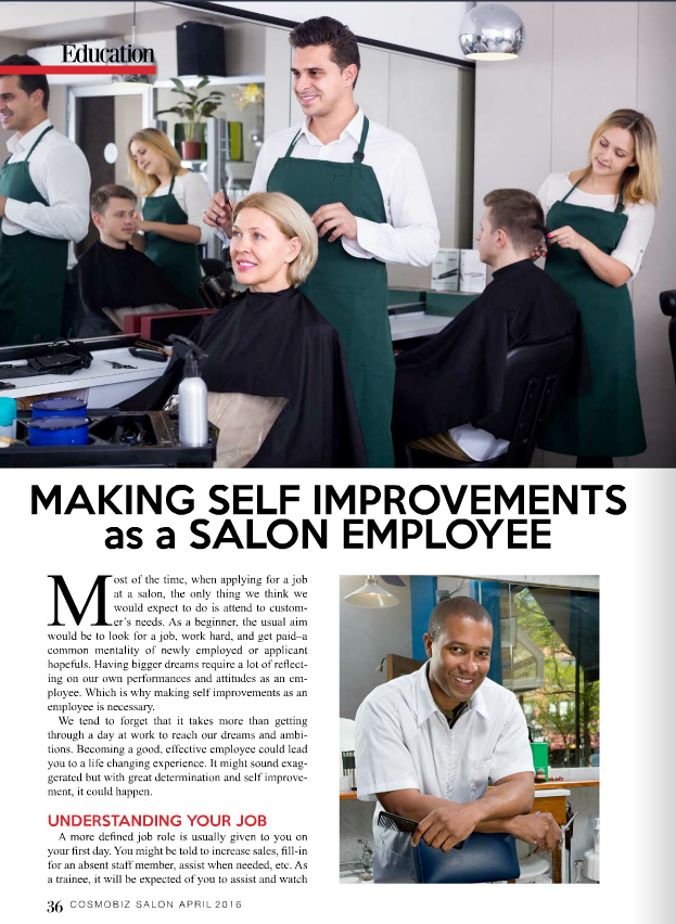 self improvements