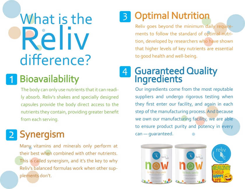 The Reliv Difference